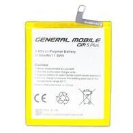 General Mobile - General Mobile GM5 Plus Batarya Pil A++ Lityum İyon Pil