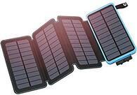 - Güneş Enerjili Taşınabilir Şarj Cihazı