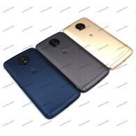 Motorola - Motorola Moto G5S Kasa Arka Kapak Pil Batarya Kapağı XT1793