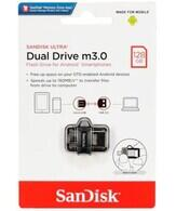 Sandisk - Sandisk Ultra Dual Drive m3.0 Flash Bellek 128 GB