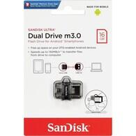 Sandisk - Sandisk Ultra Dual Drive m3.0 Flash Bellek 16 GB